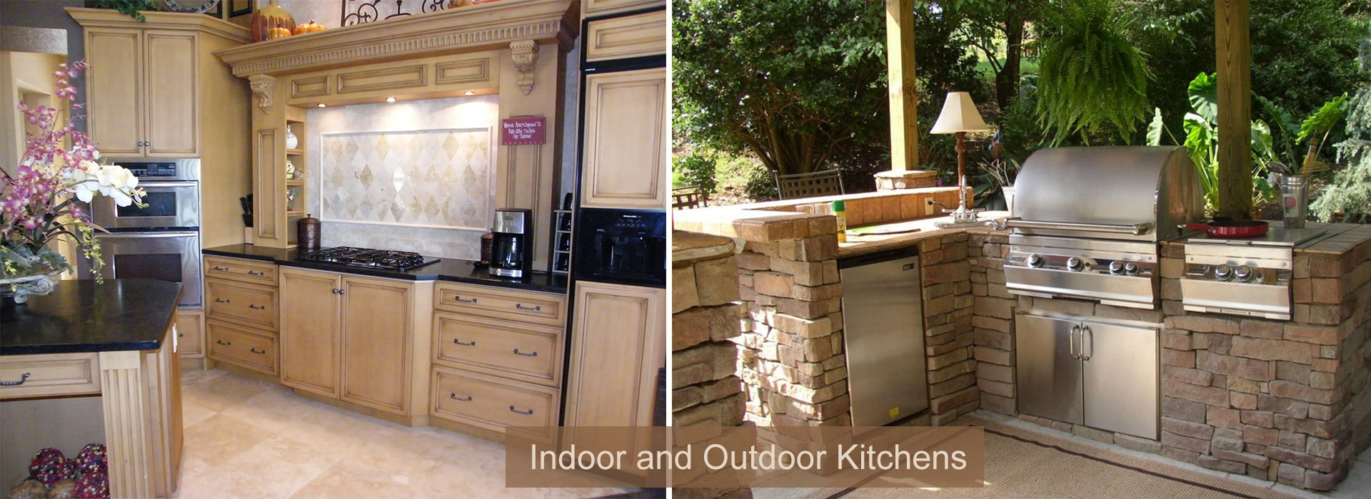 Indoor and Outdoor Kitchen Remodels