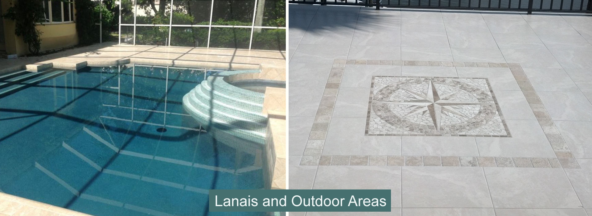 Lanais and Outdoor Areas